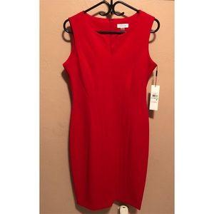 NWT Red Calvin Klein Dress